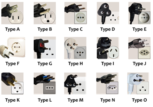 Types of switched sockets